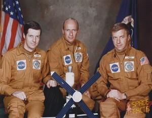 The Skylab 2 Crew. Image credit SpaceFacts.de