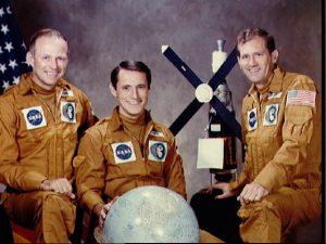 The Skylab 4 Crew. Image credit Muldrake