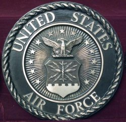 Air Force Plaque.