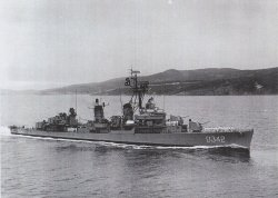The U.S.S. Cogswell. Image credit: NavSource Naval History