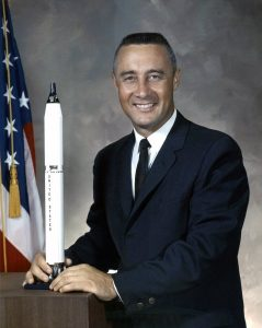 Official NASA Photo of Gus Grissom. Image credit This Day in Aviation