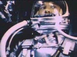 Alan Shepard in Freedom 7. Image Credit Encyclopedia.com