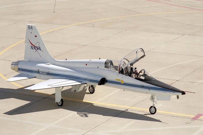 The T-38 Trainer is still frequently used by astronauts for transportation.