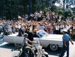 Gordon Cooper in a parade. Image credit NASA