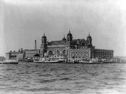 Ellis Island. Image credit Latin American Studies