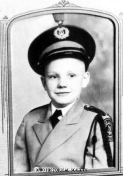 Neil Armstrong as a Boy Scout